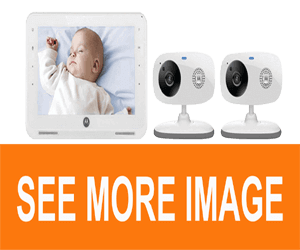 "Motorola MBP867-2 7"" LCD Digital Video Baby Monitor"