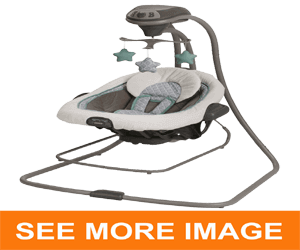 Graco DuetConnect LX Swing and Bouncer, Manor,