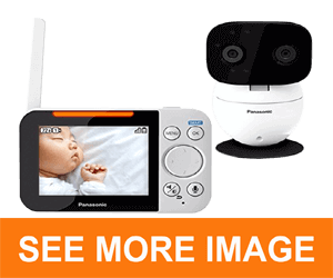 PANASONIC Video Baby Monitor with 2 Way Talk
