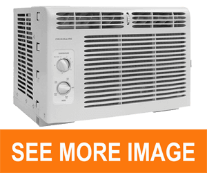 Frigidaire FFRA0511R1 5, 000 BTU 115V Window-Mounted Mini-Compact Air Conditioner