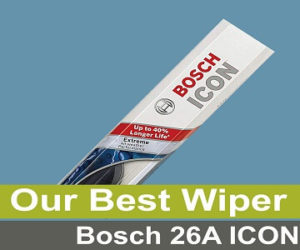 Bosch 26A ICON – Best Wiper Blades to get right now
