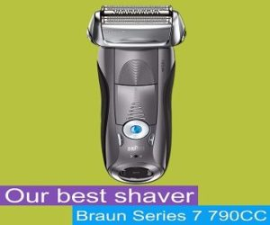 Braun Electric Shaver 790cc best razor for sensitive skin
