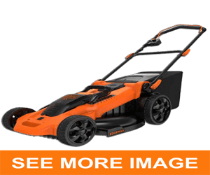 black and decker mower