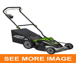 earthwise lawn mower battery